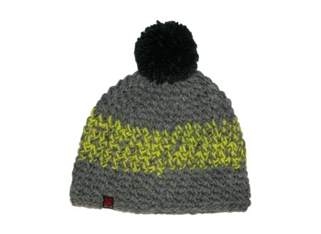 Bobble Beanie - Heather Grey  Solar